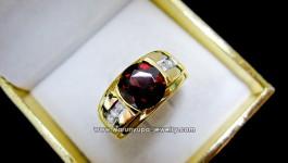 ราคา 32,500 – 35,000 บาท แหวนโกเมนจันทบุรี สีแดงน้ำตาล ไฟดี สะอาด ขึ้นรูปแหวนชายตัวเรือนทองแท้ ประดับเพชร งานขึ้นมือ ความหนาและแข็งแรงจัดเต็มไปเลยค่ะ รายละเอียด น้ำหนักพลอยโกเมน 3 กะรัต น้ำหนักเพชร 0.16 กะรัต น้ำ 98 ทองหนัก 8.2 กรัม ขนาดแหวน 55-62 (ขนาด 63 ขึ้นไปเพิ่ม […]